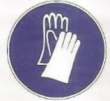 DISC PORT OF GLOVES PROTECTION REQUIRED REF: SPGO