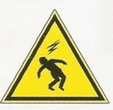 DANGER OF ELECTRIC REF: SPEL