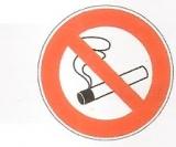 NO SMOKING REF: SPDF