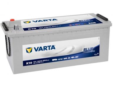 Batterie Varta promotive Bleu K10 12 V 140 Ah