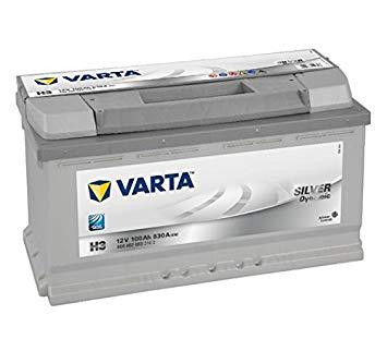 Batterie Varta SILVER dynamic H3 12V 100 Ah
