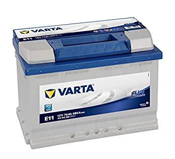 Batterie Varta Bleu dynamic E11 12V 74 Ah Listeau B