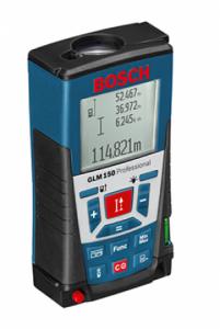 Télémètre laser Bosch GLM 150 -1.5V - IP 54 Plage de mesure 0 - 150m