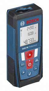 Télémètre laser Bosch GLM 50 Professional  -1,5V-IP 54  La solution simple pour des mesures de distance précises
