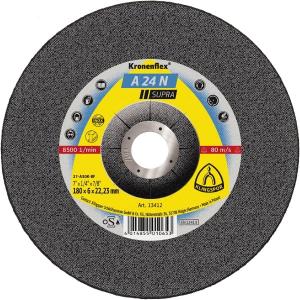 Meules à ébarber (disque à meuler) KLINGSPOR Kronenflex® pour INOX (acier Inoxydable)