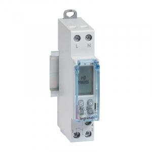 Interrupteur horaire modulaire programmable journalier et hebdomadaire standard 230V~ 1 sortie 16A - 1 module