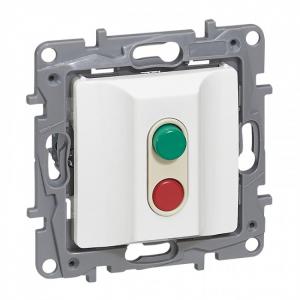 Interrupteur Dismatic Niloé - 15 A - bornes à vis - blanc ou/et ivoire