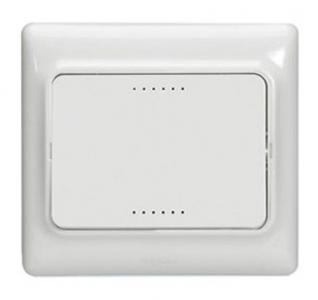 Interrupteur d'éclairage va-et-vient Kaptika - montage encastré - 10 AX 250 V ~ - blanc