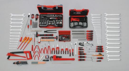 Sélection de 229 outils pour technicien de maintenance industrielle Ref : CP-229