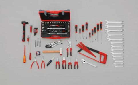 Sélection de 133 outils pour technicien de maintenance industrielle Ref : CP-133