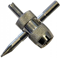 Outil en croix  de réparation pour valves de pneus Ref: 380153