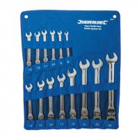 Jeu de 14 clés mixtes à cliquet articulées  ( à tête inclinable) 8 - 24 mm  Réf: 399017